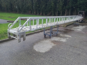 4. aluminium boat ramp rebuilt by SP Heat Transfer