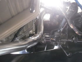 1. Custom built exhaust system for Landrover