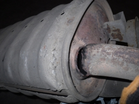 1. exhaust before repair