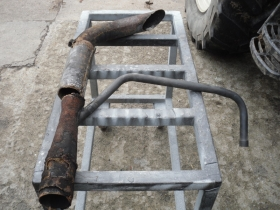 2. Old exhaust for Valtra tractor