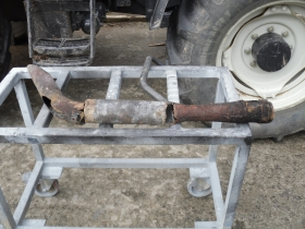 3. Old exhaust for Valtra tractor