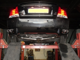 3. Volvo s80 dual system exhaust