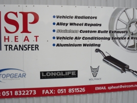 1. SP Heat Transfer sign